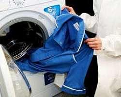 Lavanderia para limpeza de uniforme eletricista