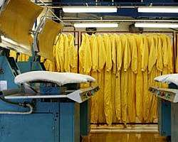 Limpeza de uniforme NR 10