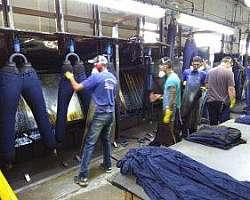 Higienização de uniformes