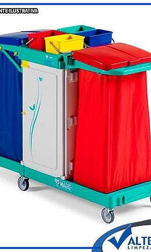 carrinho de limpeza hospitalar preço