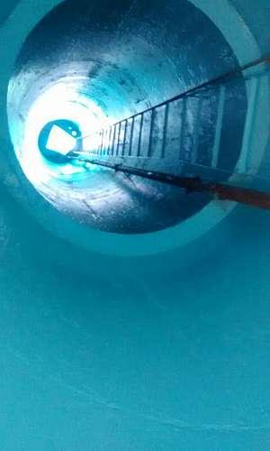 Higienização de caixa d'água