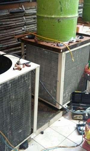 Higienizador de ar condicionado