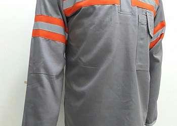 Lavanderia de higienização de uniforme eletricista
