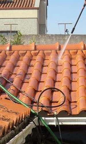 Limpeza de telhado