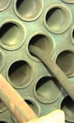 Limpeza de Tubos Caldeira
