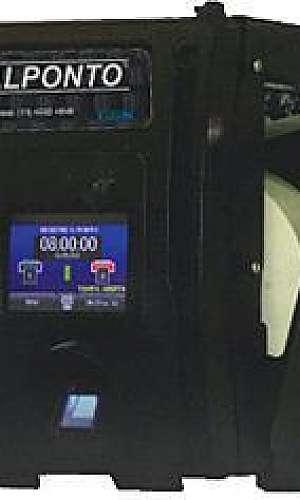 Prestação de serviço em relógio de ponto