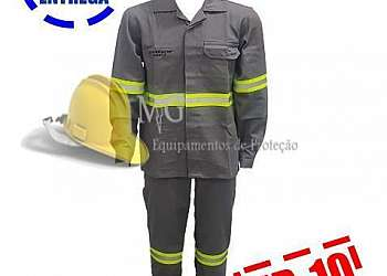 Limpeza de uniforme eletricista
